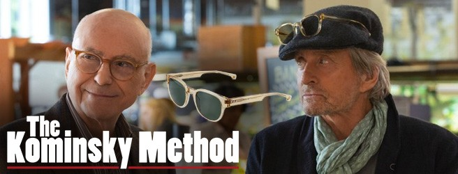 The Kominsky Method Entourage of 7 sunglasses Michael Douglas