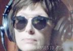 Tilda Swinton wears Dior So Real sunglasses in A Bigger Splash.