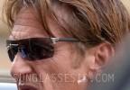 Sean Penn wears sunglasses that look like TAG Heuer Reflex