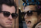 Mark Ronson wears Tom Ford Rock FT0290 sunglasses in the music video for his song with Bruno Mars, Uptown Funk.