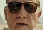 Kevin Spacey wears Persol 714 folding sunglasses in the movie All The Money In The World.