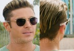 Zac Efron wears Randolph Engineering Aviator sunglasses in Baywatch