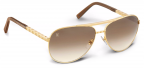 Louis Vuitton Attitude Pilote Z0339U gold sunglasses