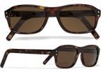 Cutler and Gross tortoiseshell acetate square-frame sunglasses