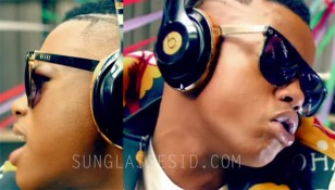 Rapper Silentó wears 9FIVE KLS 2 sunglasses in the Watch Me (Whip/Nae Nae) music video.