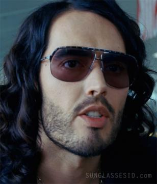 Russell Brand wears Alexander McQueen 4099 sunglasses in Get Him To The Greek
