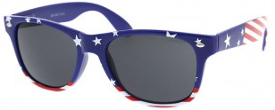 Blue Stars American USA Flag Wayfarer Sunglasses