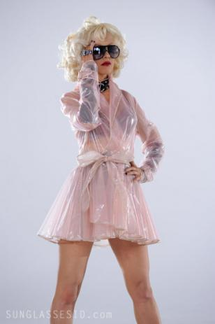 One of Anguilera's outfits from the music video Not Myself Tonight