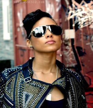 The Carrera Panamerika 1 shades as seen on Alicia Keys' video 'Try Sleeping With