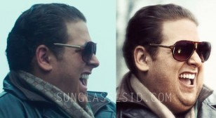 Jonah Hill wears Carrera sunglasses in War Dogs