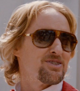 Owen Wilson wears Carrera Safari sunglasses in the movie Masterminds