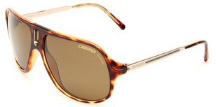 Carrera Safari, havana and gold frame