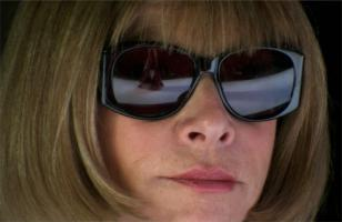 Anna Wintour and her Chanel sunglasses in The September Issue