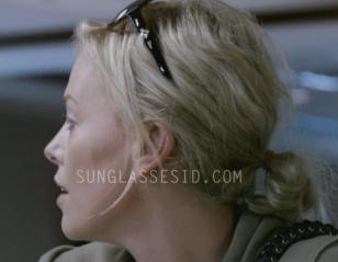 Charlize Theron wears a pair of Christian Dior Zemire sunglasses in Young Adult