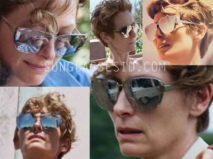 Tilda Swinton wearing Dior Futurist in A Bigger Splash