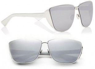 Dior Futurist, palladium mirrored sunglasses (SC134370)