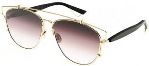 Dior Technologic, black and gold frame, brown gradient lens (RHL/86)