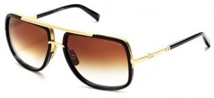 Dita Mach-One, black gold, brown lens