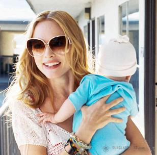 Heather Graham wears Dita Wonderlust sunglasses in the 2009 movie The Hangover