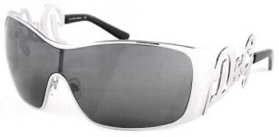 Dolce & Gabbana 6019, silver frame with grey silver mirror lens