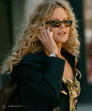 Meg Ryan wearing Donna Karan 1029 sunglasses in the film The Women