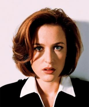 Just a nice photo of Gillian Anderson, since we think she deserves a more flattering image than the one above
