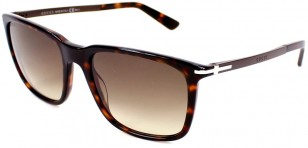 Gucci GG 1104/S tortoise shell, brown shaded polarized lens