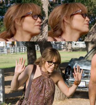 Jennifer Lopez wearing the eyeglasses in The Back-Up Plan