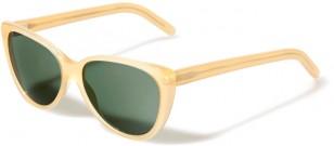 L.G.R. Alexandria, Honey frame, Green G15 lenses