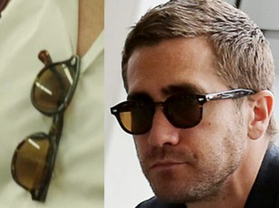 Jake Gyllenhaal wears a pair of Moscot Lemtosh sunglasses in Demolition (2016).