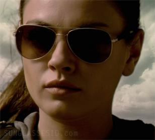 Mila Kunis wearing Mosley Tribes Raynes sunglasses in The Book of Eli