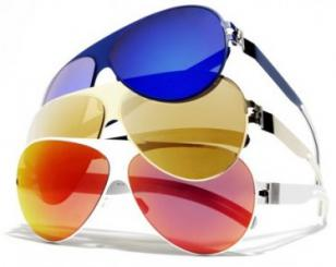 The available color combinations of the Mykita & Bernhard Willhelm Franz