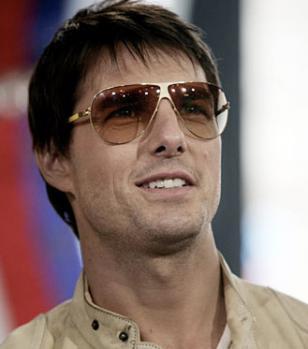 Tom Cruise wearing Mykita Flash Elliot sunglasses
