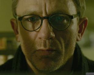 Daniel Craig wears Mykita Helmut glasses in the movie The Girl with the Dragon T