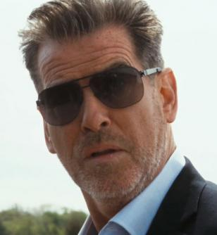 Pierce Brosnan in Salvation Boulevard, as Dan Day, the powerful leader of a chur