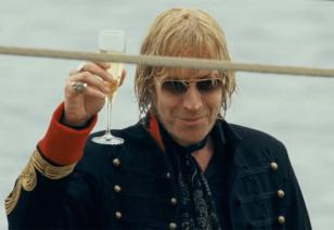 Rhys Ifans wearing Mykita Rolf in The Boat That Rocked (aka Pirate Radio)