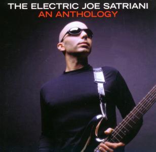 Joe Satriani wearing the Oakley Eye Jacket on the cover of The Electric Joe Satriani