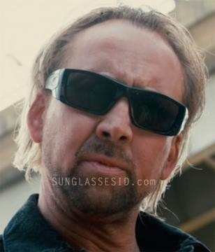 Nicholas Cage with Oakley Fuel Cell sunglasses in Drive Angry 3D