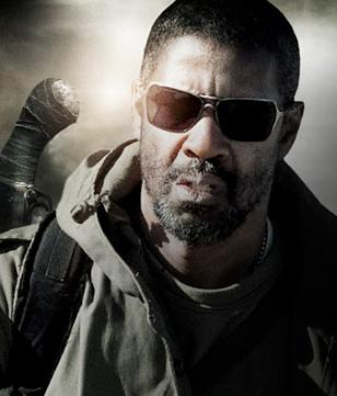 Denzel Washington wearing Oakley Inmate in The Book of Eli