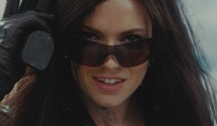 Sienna Miller wearing Oakley Nanowire 3.0 sunglasses