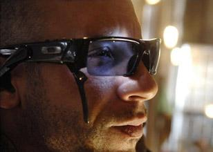 Vin Diesel wearing Oakley ROKR in Babylon A.D.