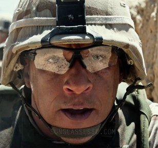 Vin Diesel wears a pair of Oakley Radar Path protective glasses in Billy Lynn's Long Halftime Walk.