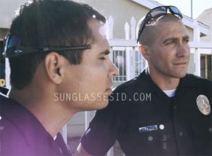 Michael Peña, as officer Zavala in the movie End of Watch, wears a pair of Oakle