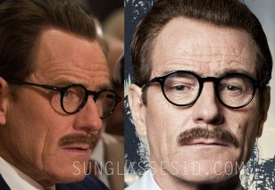 Bryan Cranston wears Old Focals Founder eyeglasses in the movie Trumbo.