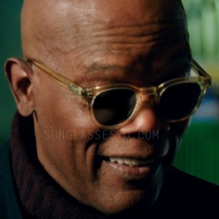 Samuel L. Jackson wearing Old Focals Icon sunglasses in xXx: Return of Xander Cage.