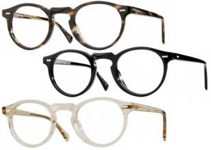 The Oliver Peoples Gregory Peck is available in different frame colors.