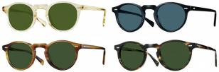 The Oliver Peoples Gregory Peck is also available as sunglasses frame.
