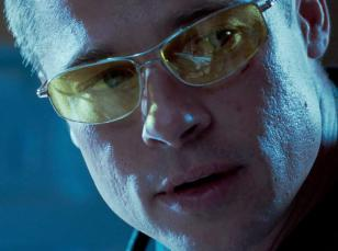 Brad Pitt wearing Oliver Peoples Nitro in Mr. and Mrs. Smith