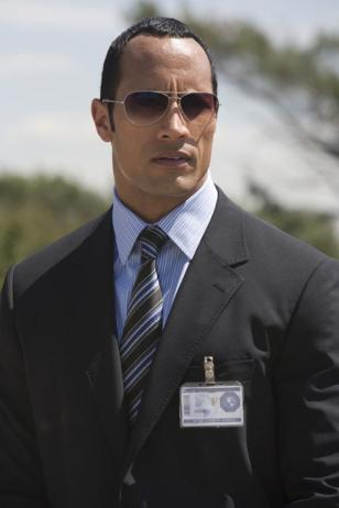 Dwayne Johnson wears Paul Smith 817 in Get Smart
