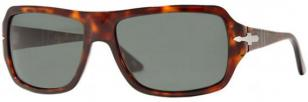 Persol PO2883-S, havana frame (24) with chrystal grey green (31) lenses
